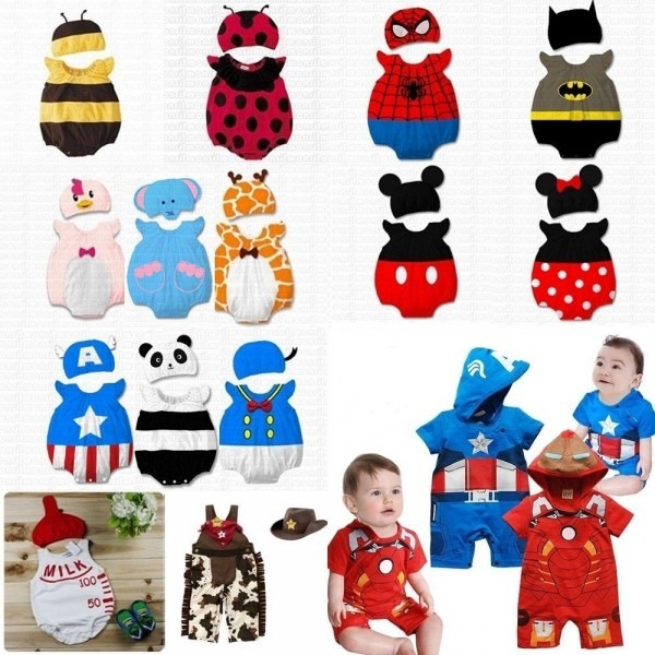 Baby Boy Girl Christmas Fancy Dress Party Costume Outfit Clothes+