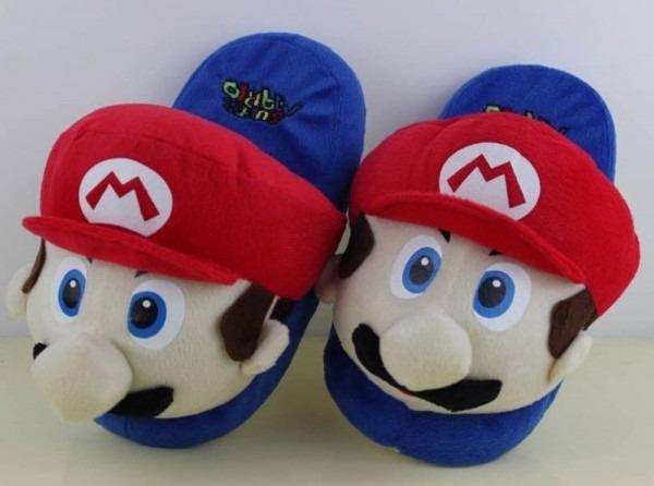 Mario Bros Slippers