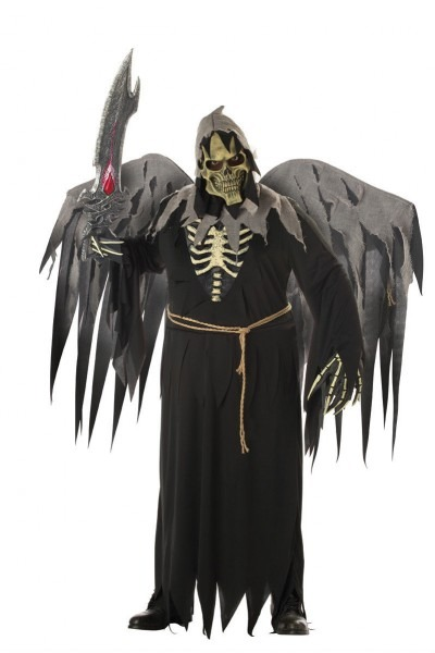 Demon Angel Of Death Plus Size Adult Costume 19519018802