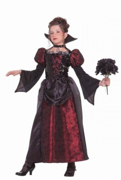 Vampire Miss Halloween Costume Transylvania Girls Sz Medium 8 10