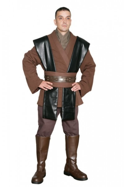 Star Wars Anakin Skywalker Costume Brown Jedi Tunic And Pants From