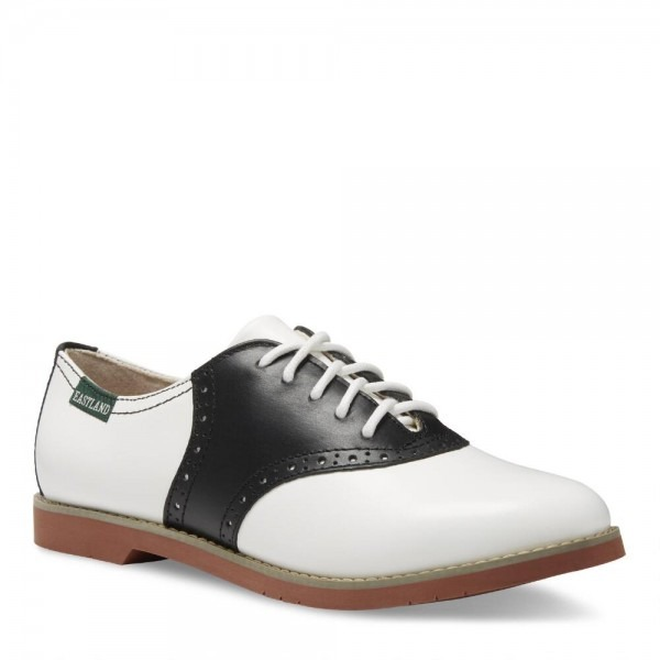 Women's Saddle Shoe Buck Oxfords