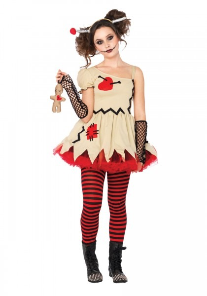 Tremendous Scary Doll Halloween Costume  Bluehalloween