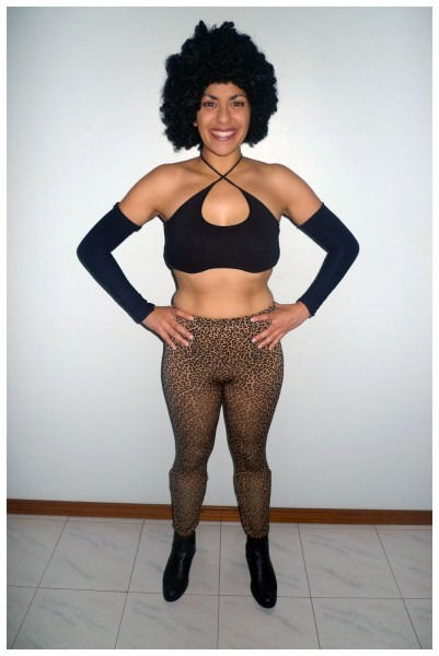 Scary Spice Costume