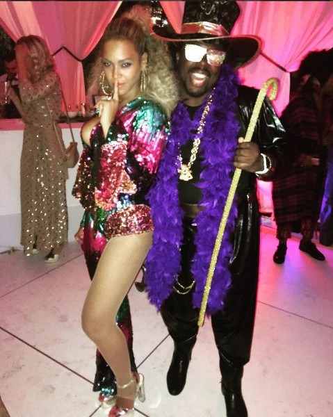 Beyonce's Funky Soul Train Themed Birthday Bash
