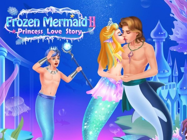 The Little Princess Mermaid 2  Dress Up Story Game For Android