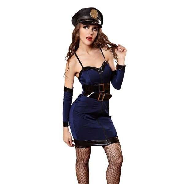 Sexy Police Costume Halloween Costume For Woman Role Playing Cop