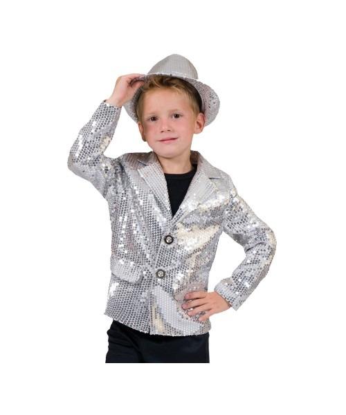 Silver Disco Boys Costume