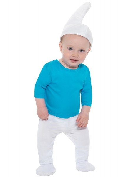 Smurf Costume For A Baby  The Coolest