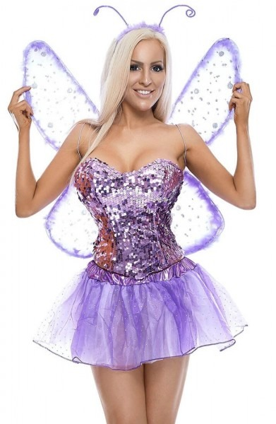 Purple Butterfly Costume