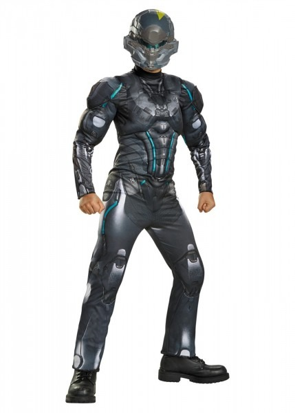 Spartan Locke Muscle Boys Costume