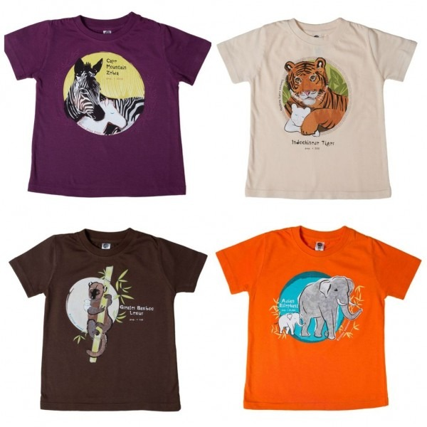 Kids Tees To Support Endangered Animals