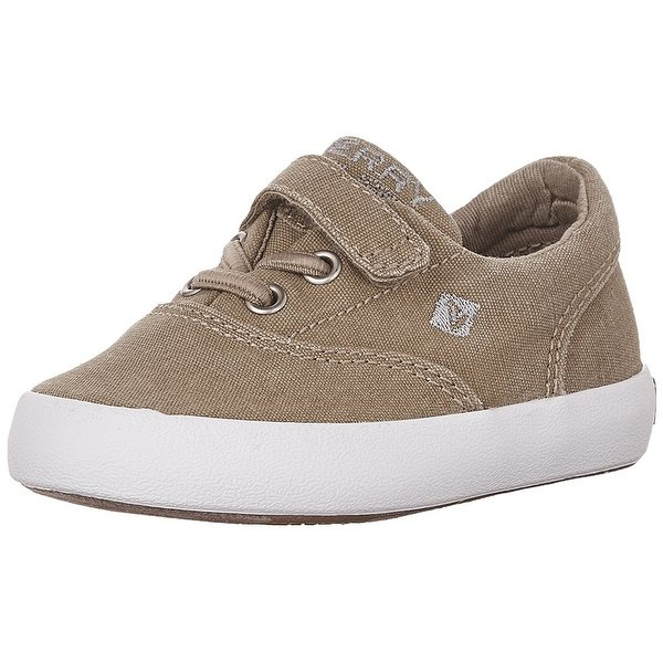 Sperry Wahoo Alternative Closure Sneaker, Khaki, Size 9 M Us