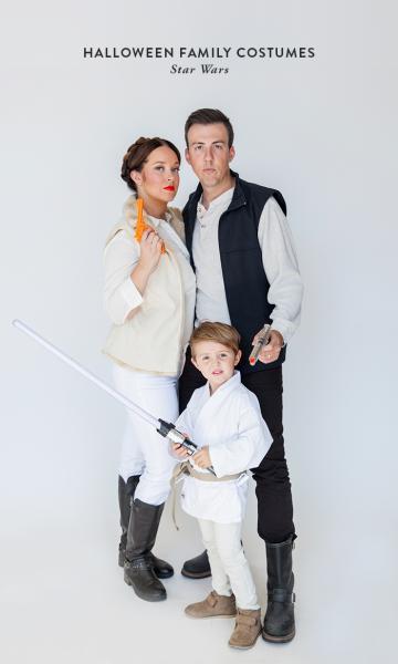 Halloween Family Costumes  Star Wars