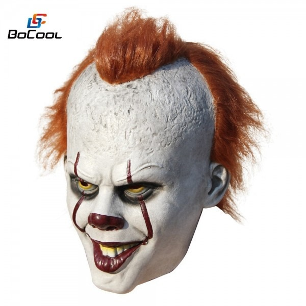 Stephen King39s It Pennywise Mask Costume Scary Halloween Mask