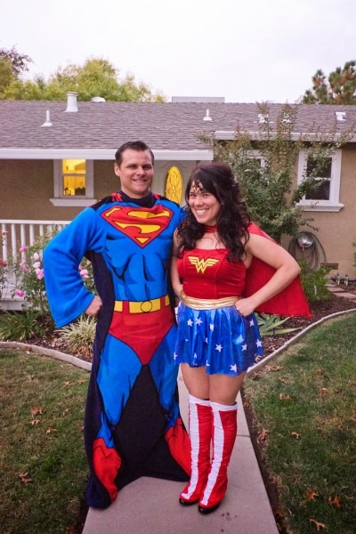 Domestic Fashionista  Superman And Wonder Woman  Couple's
