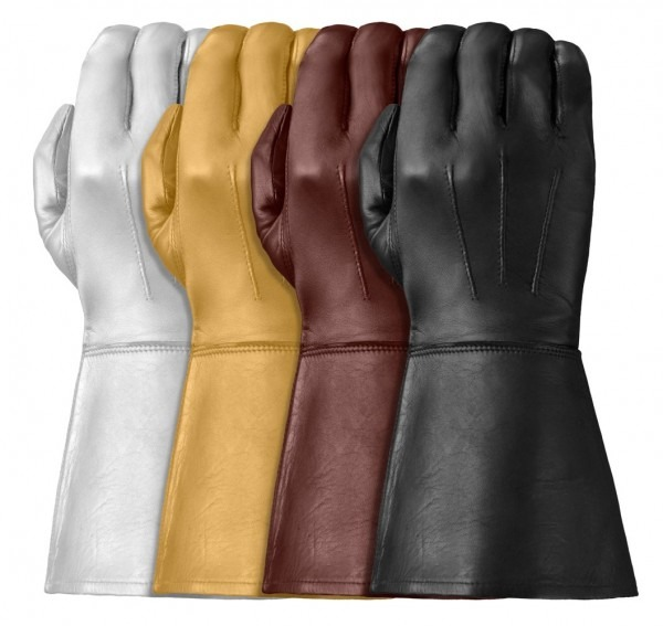 Tough Gloves Ultra™ Enforcer Leather Gauntlets By Tough Gloves