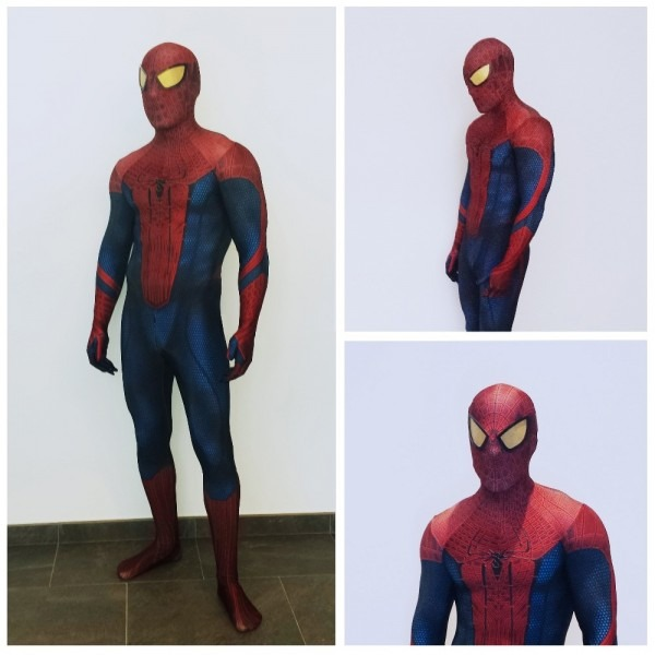 The Amazing Spider Man Adult Digital Print Halloween Cosplay