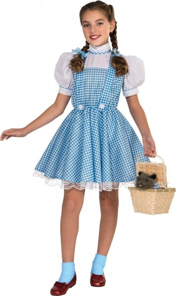 The Wizard Of Oz Dorothy Deluxe Child Girl's Costume