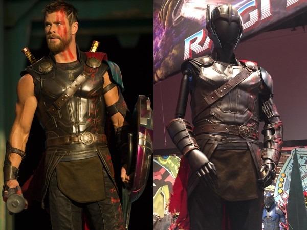 Thor  Ragnarok' Photos  Chris Hemsworth's Movie Costume On Display