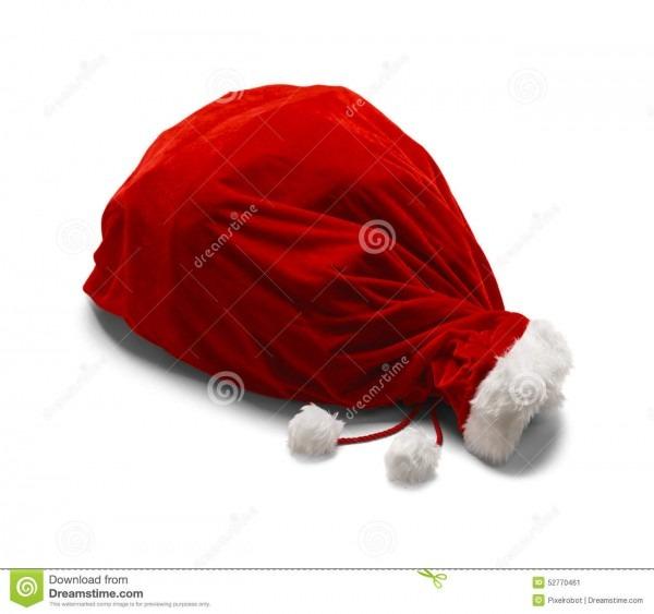 Tied Santa Bag Stock Image  Image Of Cultures, Velvet