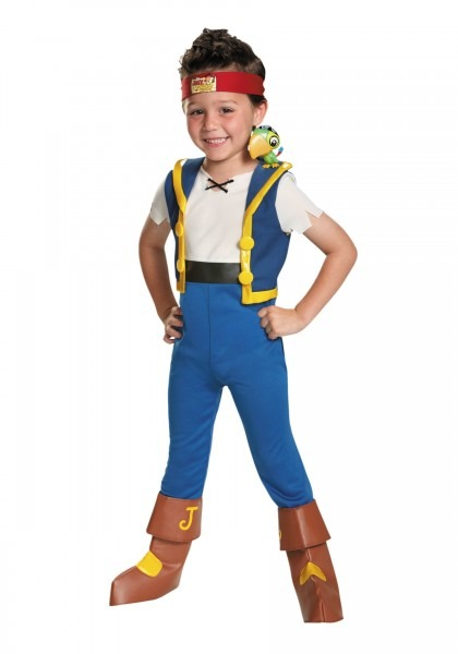 26 Jake And The Neverland Pirates Toddler Costume, Toddler Girls