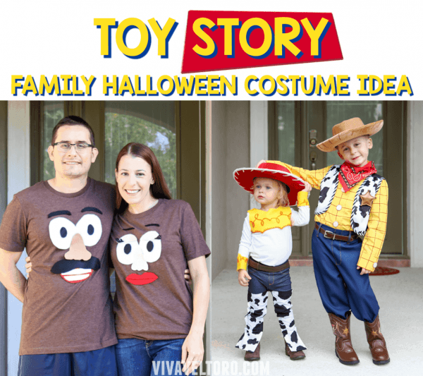 Toy Story Halloween Costumes For A Family