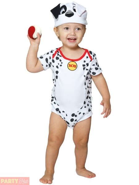 Baby Toddler 101 Dalmatians Costume Childs Disney Travis Design