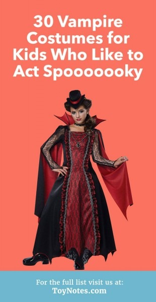 30 Vampire Costumes For Kids Who Like To Act Spooooooky