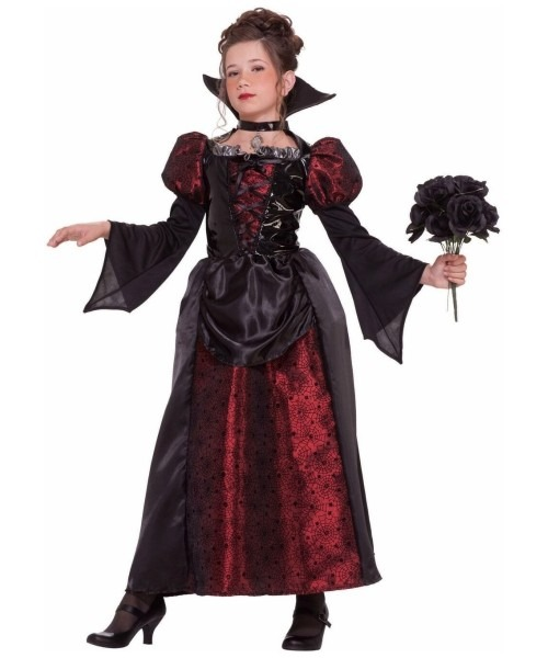 Vampire Miss Kids Halloween Costume