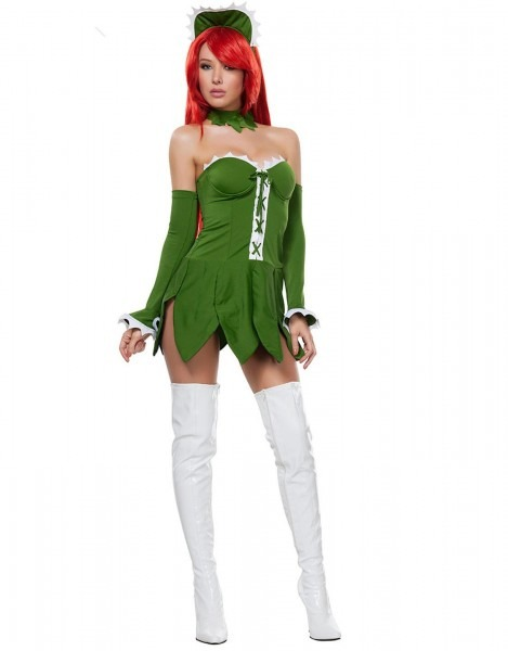 Venus Fly Trap Costume _wonder Beauty Lingerie Dress Fashion Store