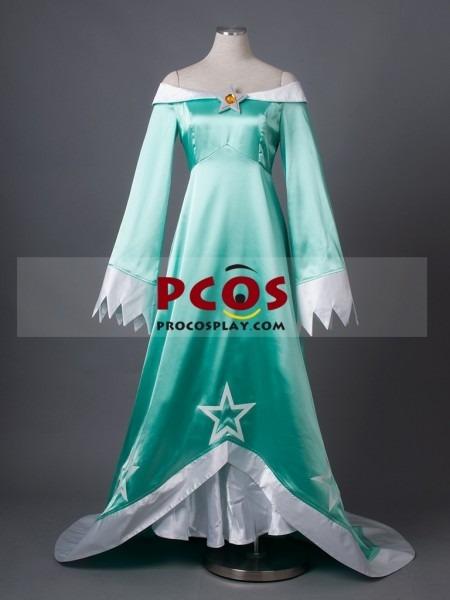 Super Mario Galaxy Wii U Rosalina & Luma Cosplay Costume Mp002981