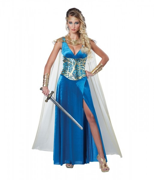 Sexy And Fierce Warrior Queen Woman Costume