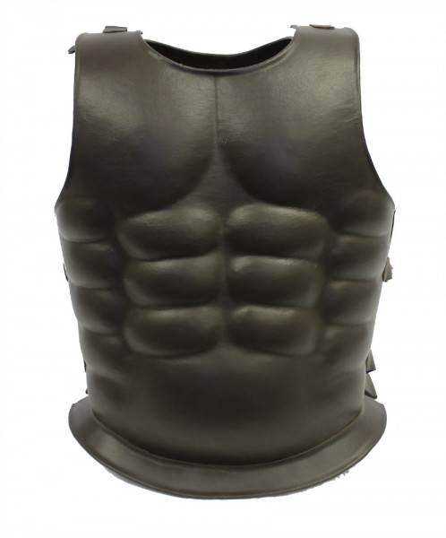 Roman Leather Metal Breastplate