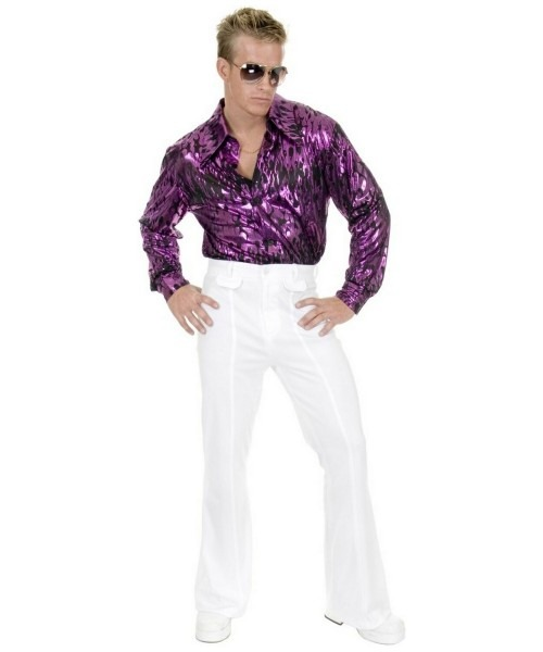 Disco White Pants Adult Costume