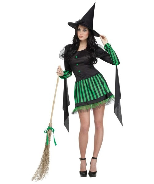Wicked Witch Halloween Costume For Adult