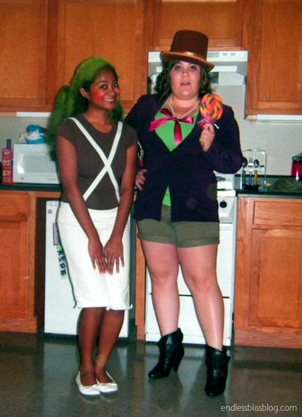 Willy Wonka And Oompa Loompa Costume • Endless Bliss