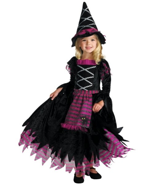 Witch Fairy Tale Kids Halloween Costume