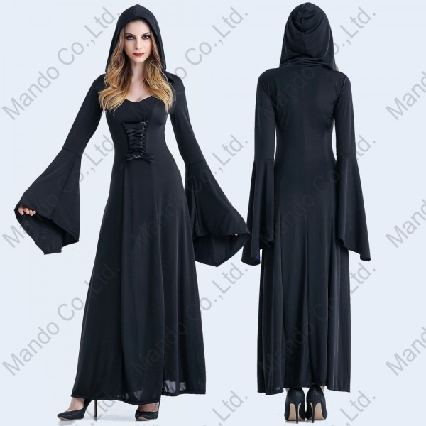 Women Renaissance Medieval Witch Cosplay Victorian Fancy Sexy