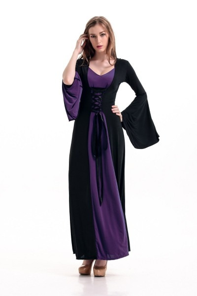 Women The Medieval Times Dress Vintage Palace Dress Sexy Witches