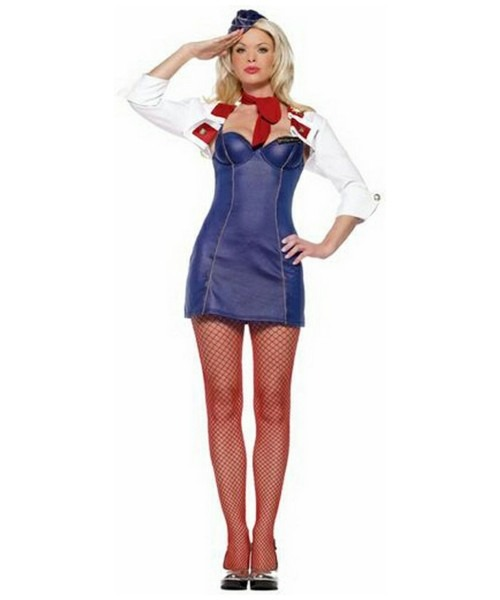 Mile High Attendant Costume