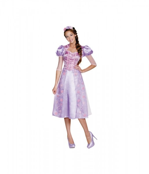 Disney Princess Rapunzel Womens Dress Costume