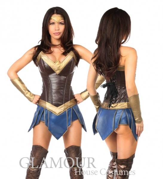 Wonder Warrior Woman Costume By Daisy Corsets Td