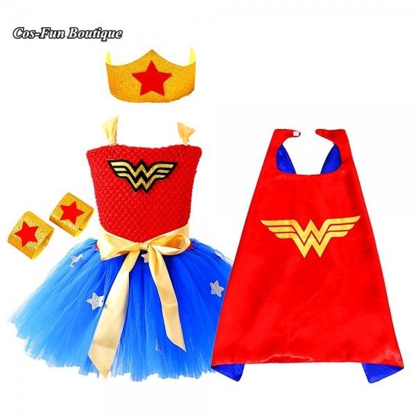 Aliexpress Com   Buy Wonder Woman Hero Costume Baby Girl Tutu