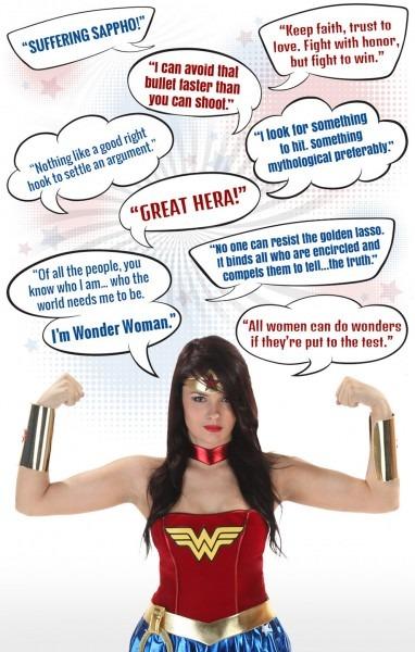 Wonder Woman Costumes For Girls & Women