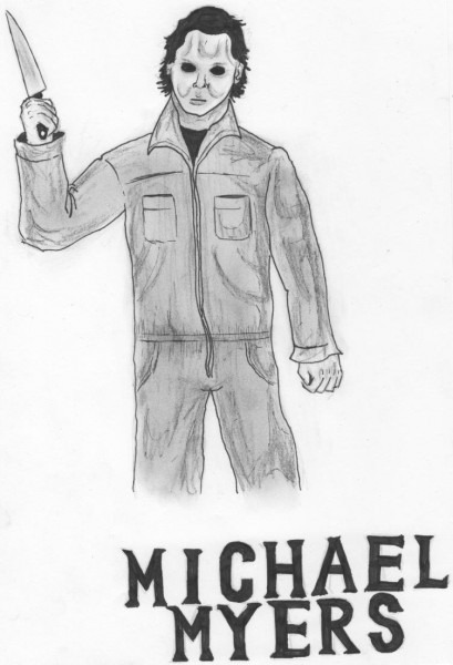 Michael Myers Coloring Pages Affordable Colouring Incredible Page
