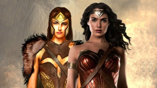 Wonder Woman Costume Illustrations Of Queen Hippolyta And Amazon