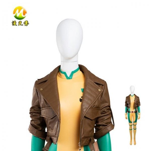 X Men Rogue Kostüm Frauen Cosplay Kostüm Jacke Für Halloween Party