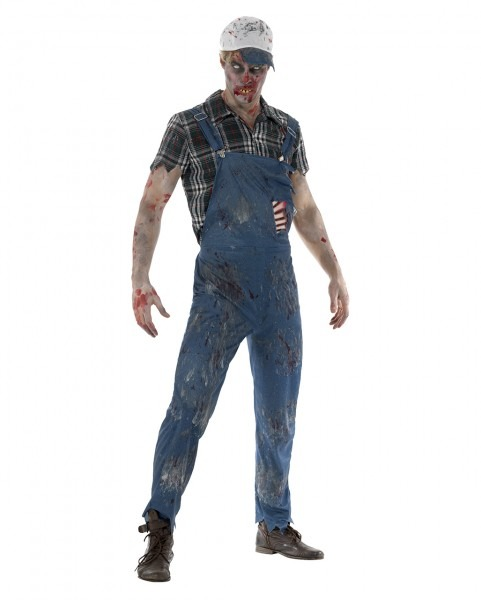 Zombie Farmer Costume For Halloween