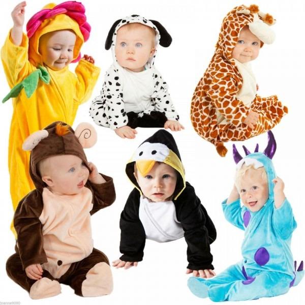Deluxe Boys Girls Baby Grow Cute Toddler Animal Dalmatian Fancy